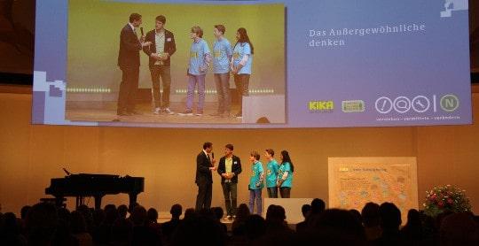 Vertreter des KIKA Nachhaltigkeitstages im Gespräch mit Andreas Jung (MdB)