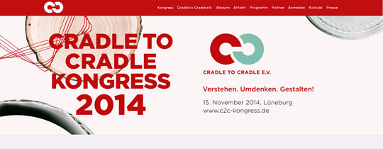 Banner Cradle-to-Cradle-Kongress