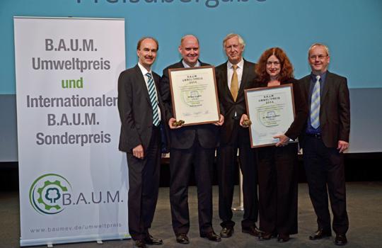 Verleihung B.A.U.M.-Umweltpreis 2014