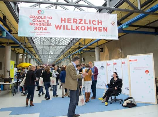 Beim Cradle-to-Cradle-Kongress