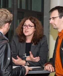 Monika Griefahn im Gespräch