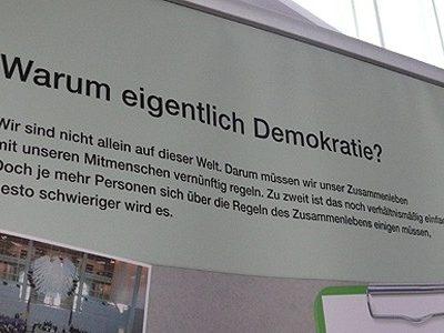 """""""Demokratie stärken – Rechtsextremismus bekämpfen"""""""