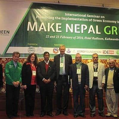 Nepal grün machen