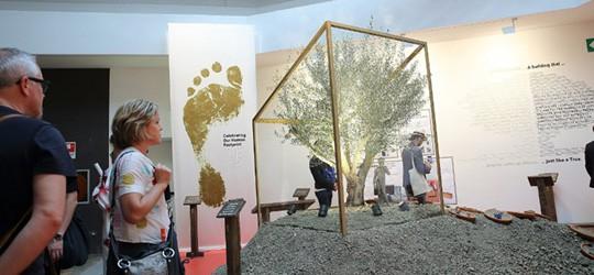 26052016, Italien, Venedig, 15. Bienanale der Architektur, Der Hauptpavillion mit Michael Braungart