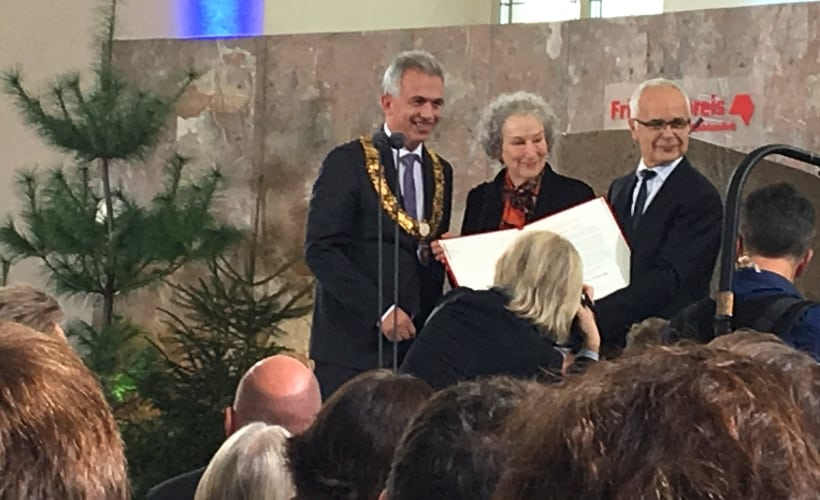 Peace Prize of the German Book Trade to Margaret Atwood