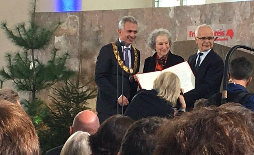 Verleihung des Friedenspreises des Deutschen Buchhandels an Margret Atwood