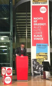 Der stellvertretende SPD-Parteivorsitzende Thorsten Schäfer-Gümbel im Willy-Brandt-Haus.