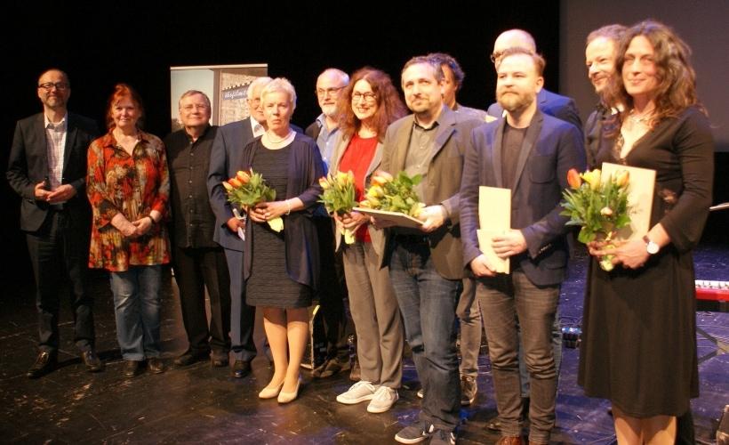 Die Gewinner und Oganisatoren der Ökofilmtour 2018.