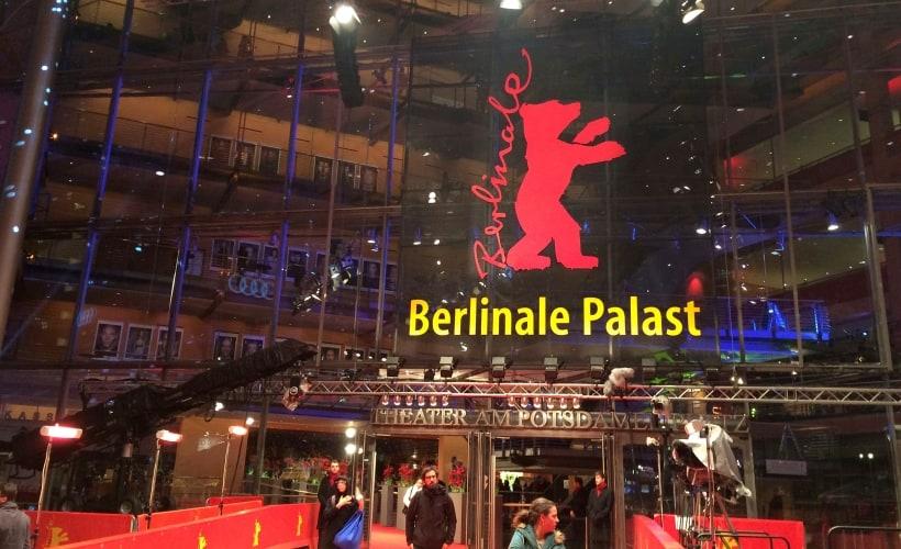 Der Eingang zur Berlinale