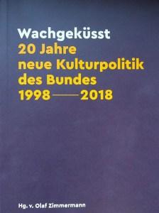 """Cover des Buches """"Wachgeküsst"""""""