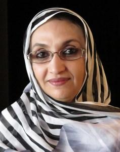 Porträt von Aminatou Haidar