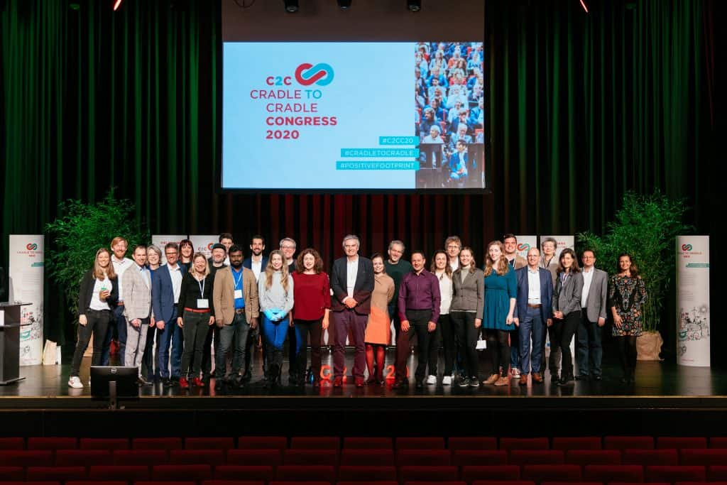 Group picture of all actors at the C2C Congress 2020.