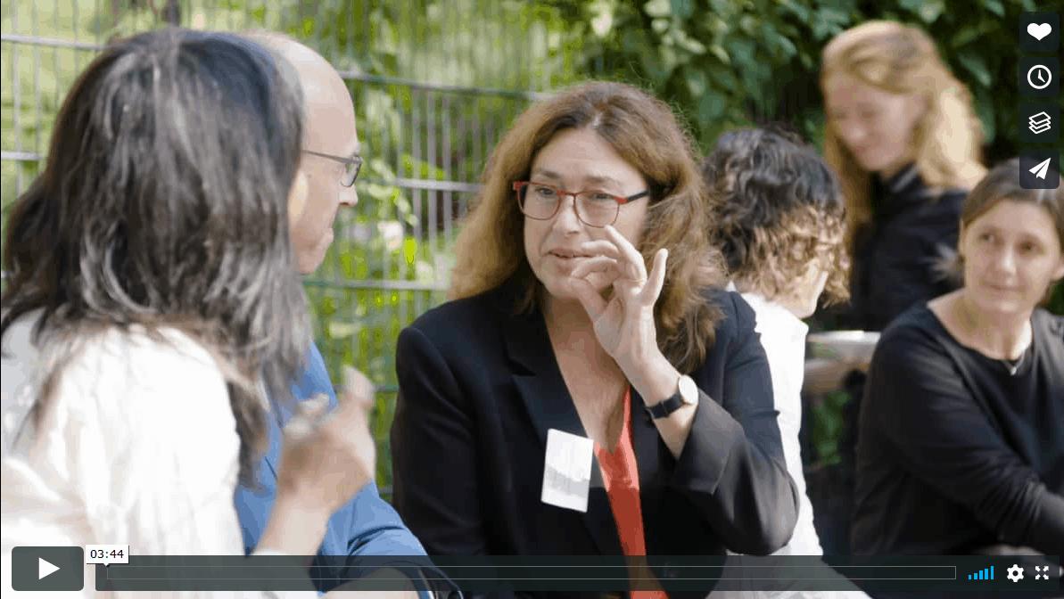 Klicken Sie auf das Bild, um sich den Film über Monika Griefahn auf Vimeo anzusehen