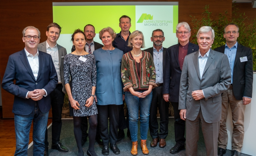 Participants of the recent symposium of the Michael Otto Foundation in Hamburg