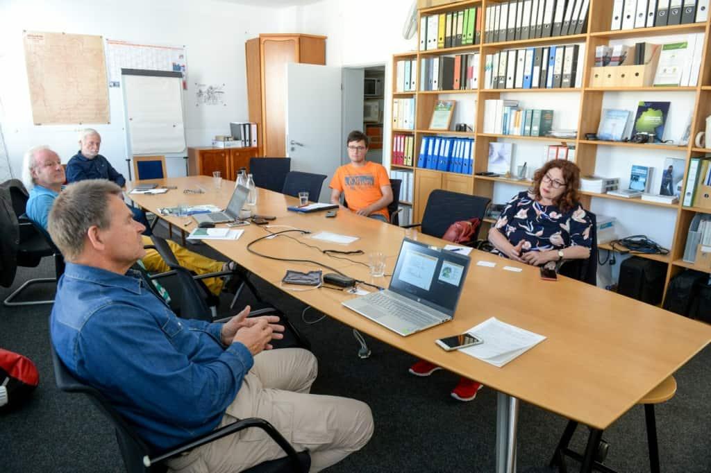 Monika Griefahn zu Gast bei der Bürgerenergiegenossenschaft