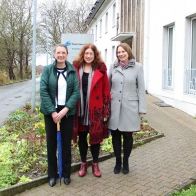 Besuch bei der Fliedner-Stiftung