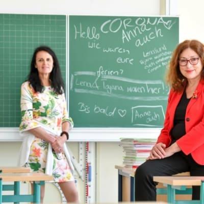 Besuch in der Luisenschule bei Dr.Quednau