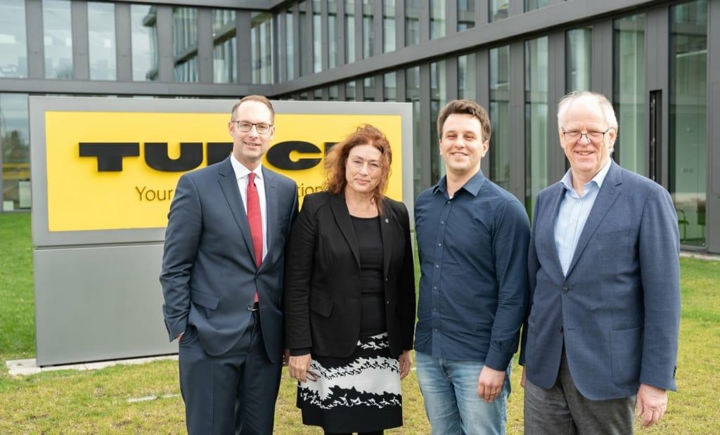 Monika Griefahn besucht das Unternehmen TURCK in Mülheim-Heißen