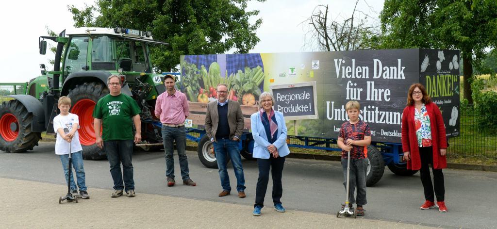 """Aktion """"LSV Deutschland – Bauern sagen Danke"""""""