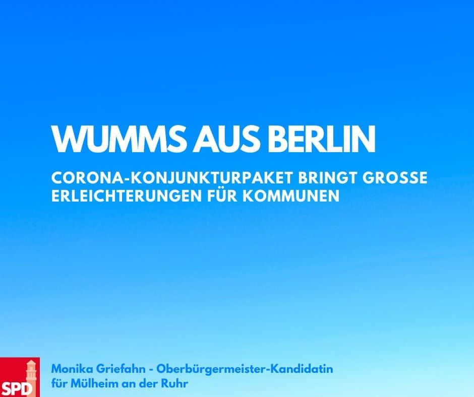 Corona-Konjunkturpaket: Wumms aus Berlin