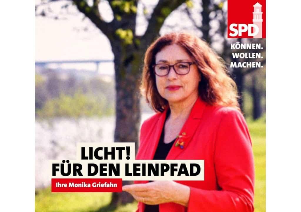 Licht für den Leinpfad! | Monika Griefahn