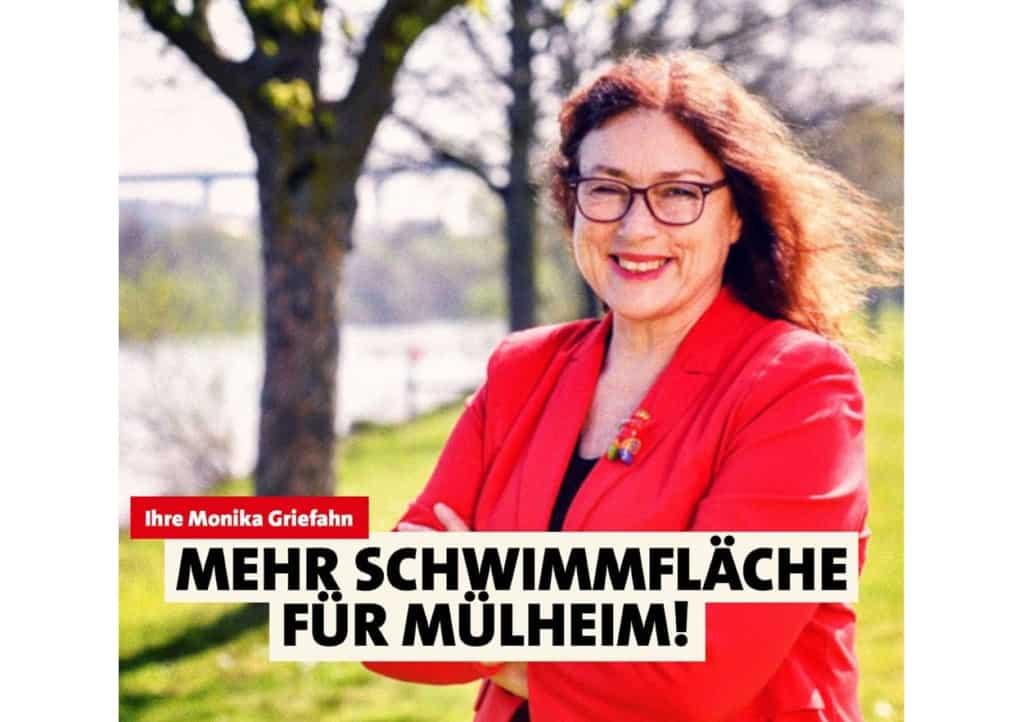 Mehr Schwimmfläche für Mülheim! Monika Griefahn