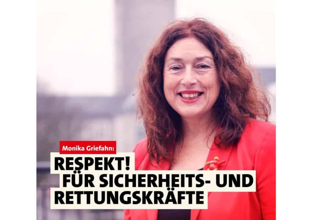 Respekt! Für Sicherheits- und Rettungskräfte | Monika Griefahn
