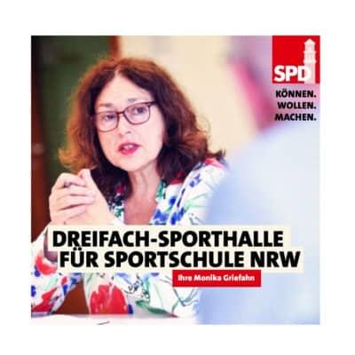 Dreifach-Sporthalle für die Luisenschule!