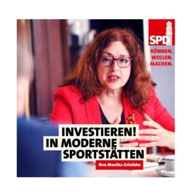 In moderne Sportstätten investieren!