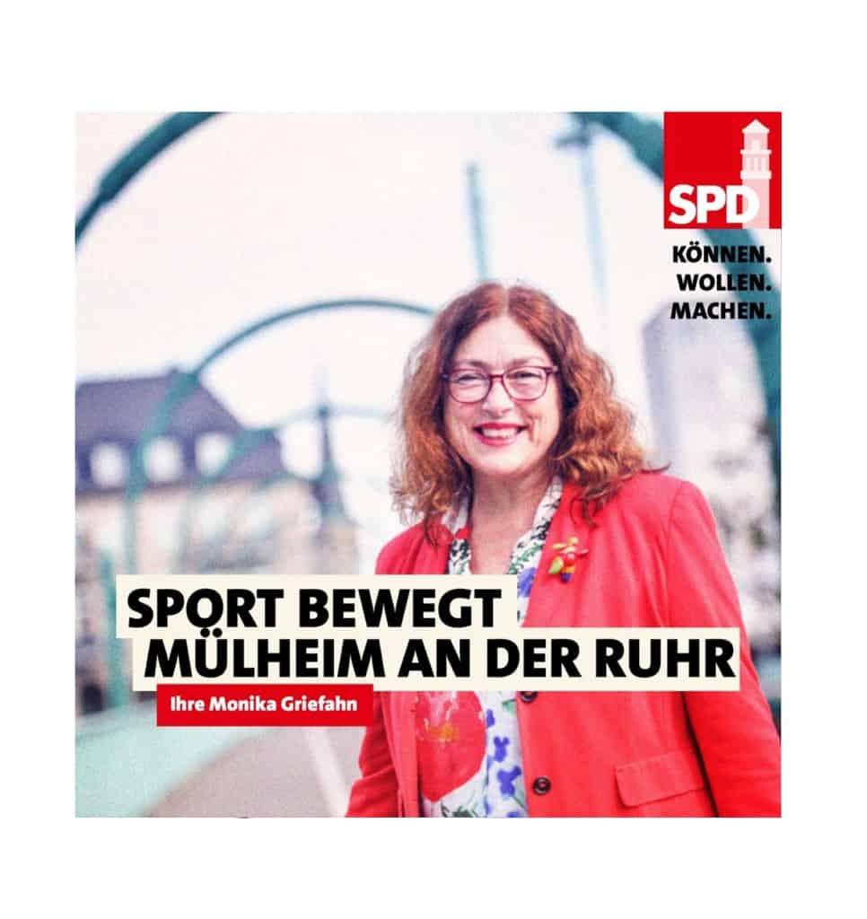 Sport bewegt Mülheim an der Ruhr | Monika Griefahn