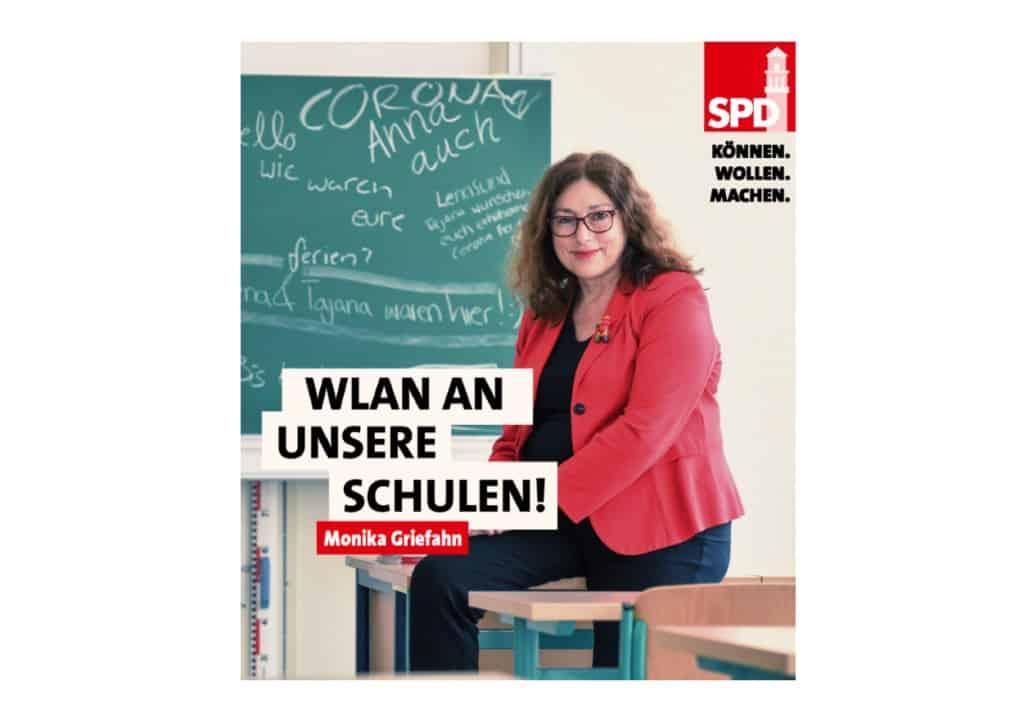 WLAN an unsere Schulen! | Monika Griefahn
