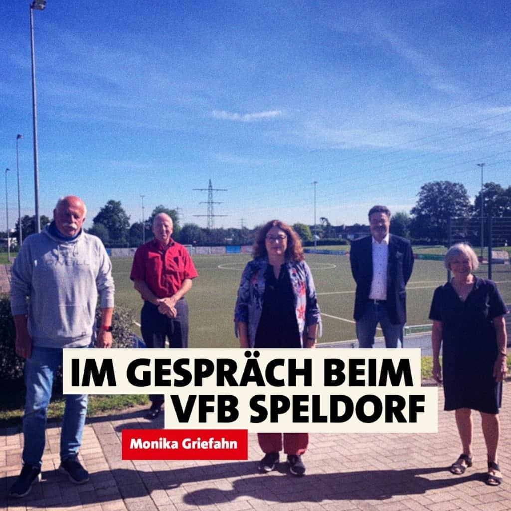 Im Gespräch beim VfB Speldorf | Monika Griefahn