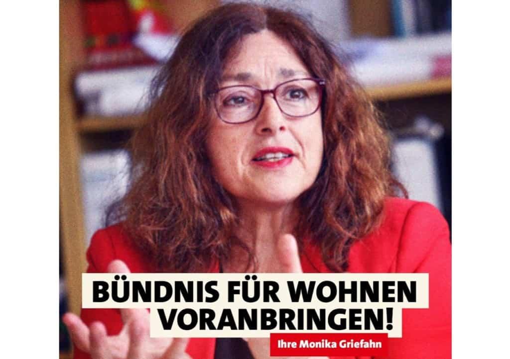 Bündnis für Wohnen voranbringen! | Monika Griefahn