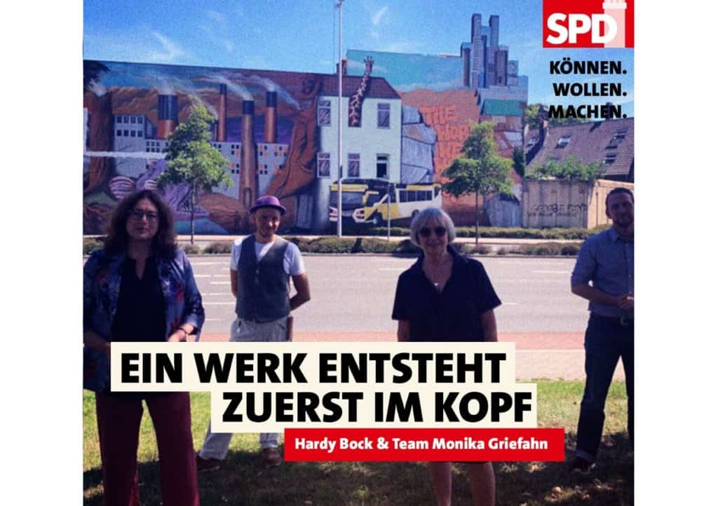 Ein Werk entsteht zuerst im Kopf | Hardy Bock & Monika Griefahn