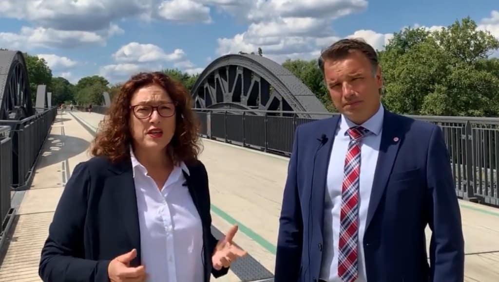 Michael Hübner und Monika Griefahn