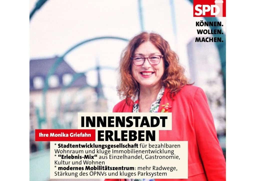 Monika Griefahn: Innnestadt muss Erlebnisort werden!