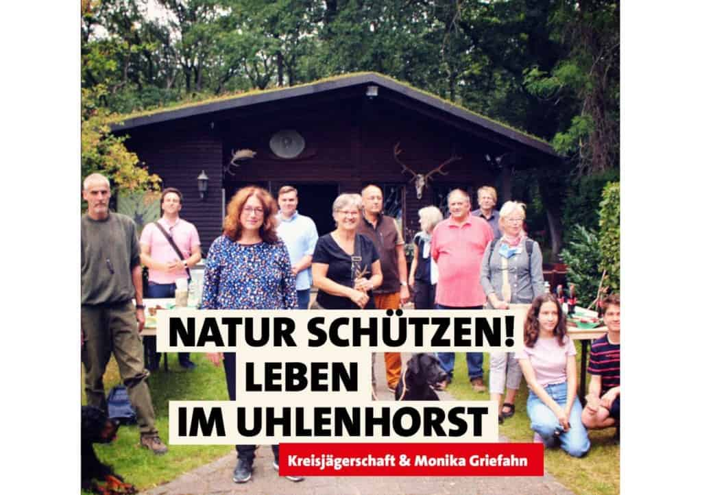 Natur schützen! Leben im Uhlenhorst | Kreisjägerschaft & Monika Griefahn