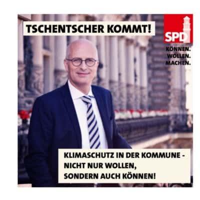Hamburgs Bürgermeister Peter Tschentscher kommt nach Mülheim!