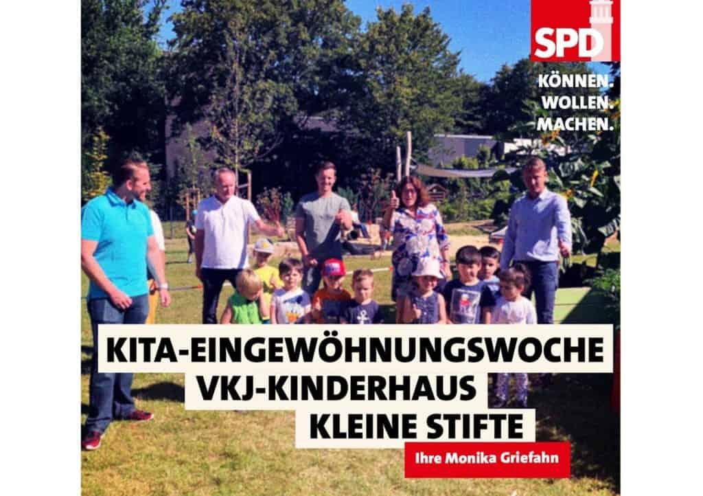 KITA-Eingwöhnungswoche - VKJ-Kinderhaus Kleine Stifte | Monika Griefahn