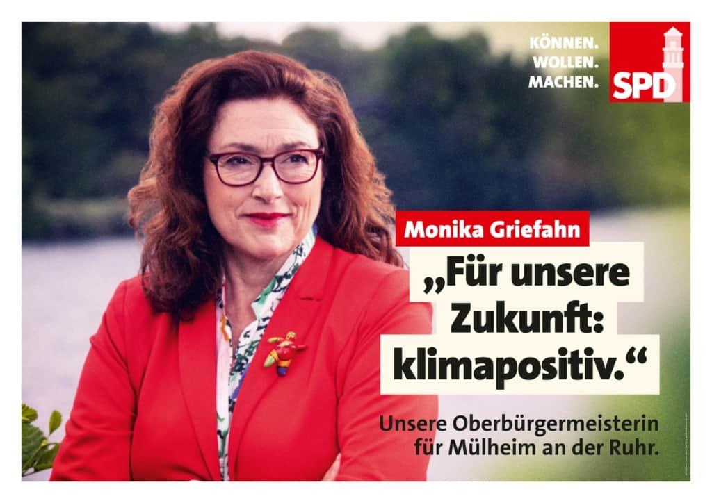 """Monika Griefahn: """"Für unsere Zukunft: klimapositiv."""""""