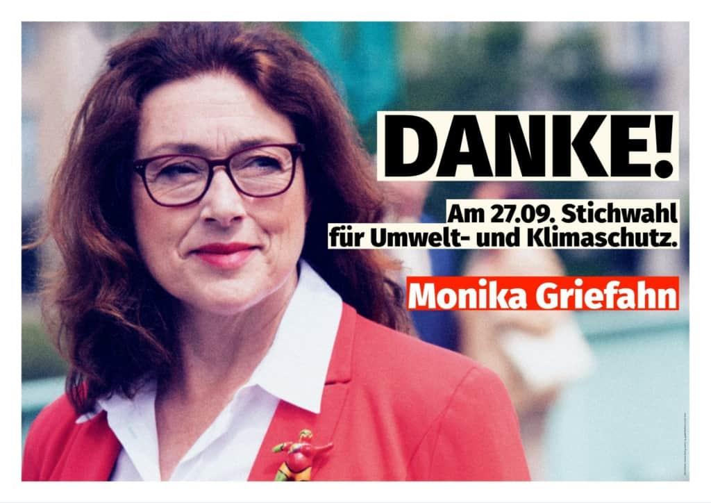 Stichwahl am 27.09.2020 Monika Griefahn