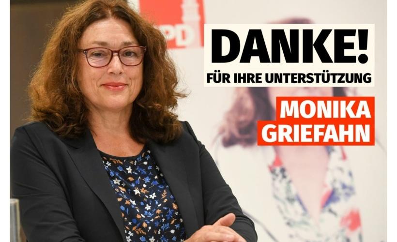 Monika Griefahn: Danke für Ihre Unterstützung!