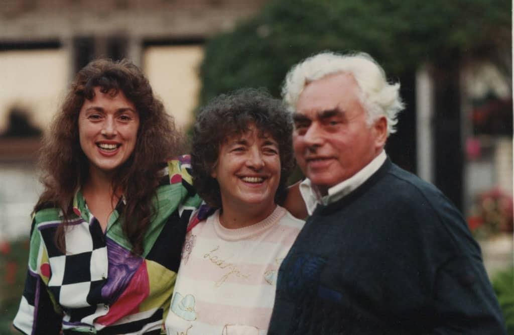 Monika Griefahn und ihre Eltern
