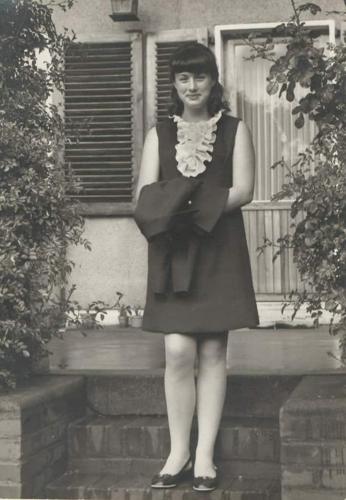 Jugendbild Monika Griefahn