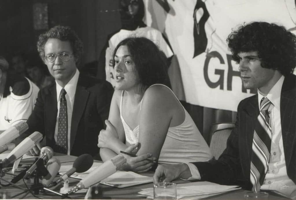 Monika Griefahn | Greenpeace Pressekonferenz