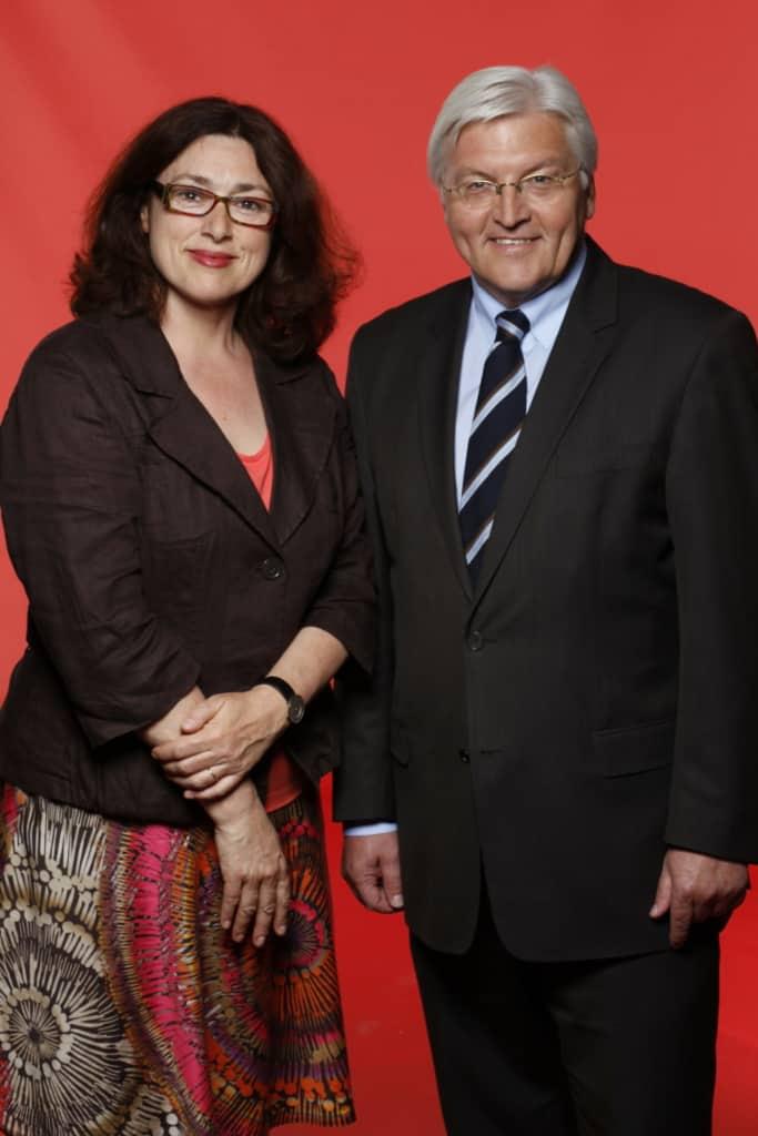 Monika Griefahn und Frank-Walter Steinmeier