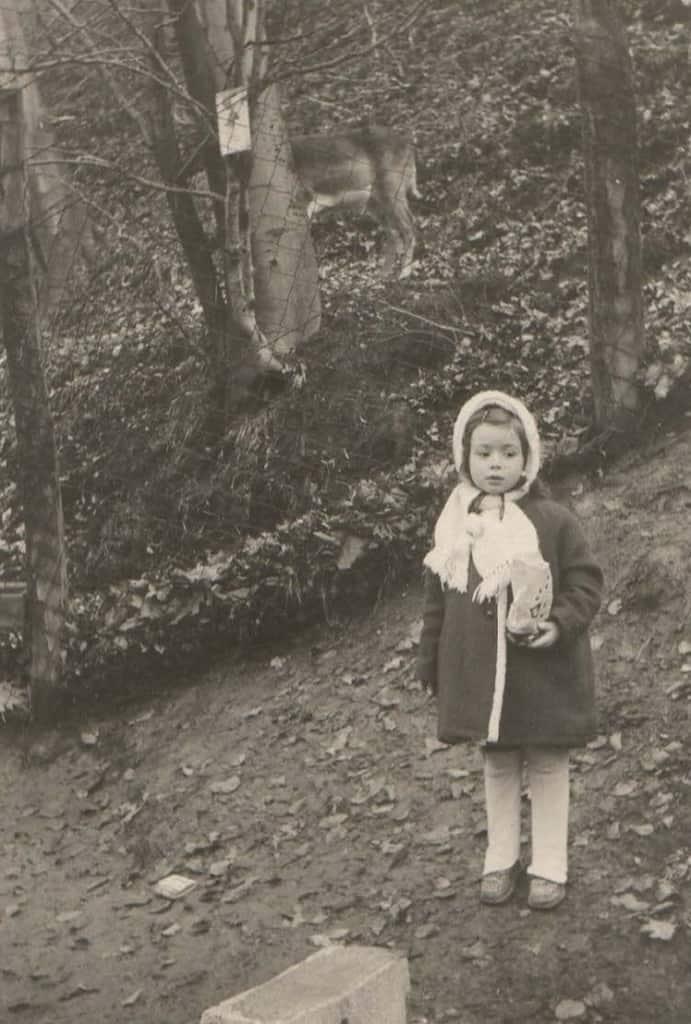 Monika Griefahn als Kind