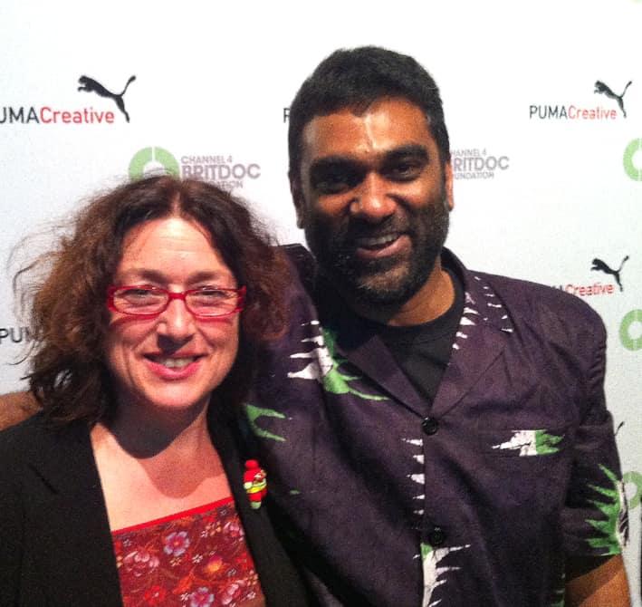2012: Mit dem damaligen Greenpeace-Direktor KumiNaidoo.