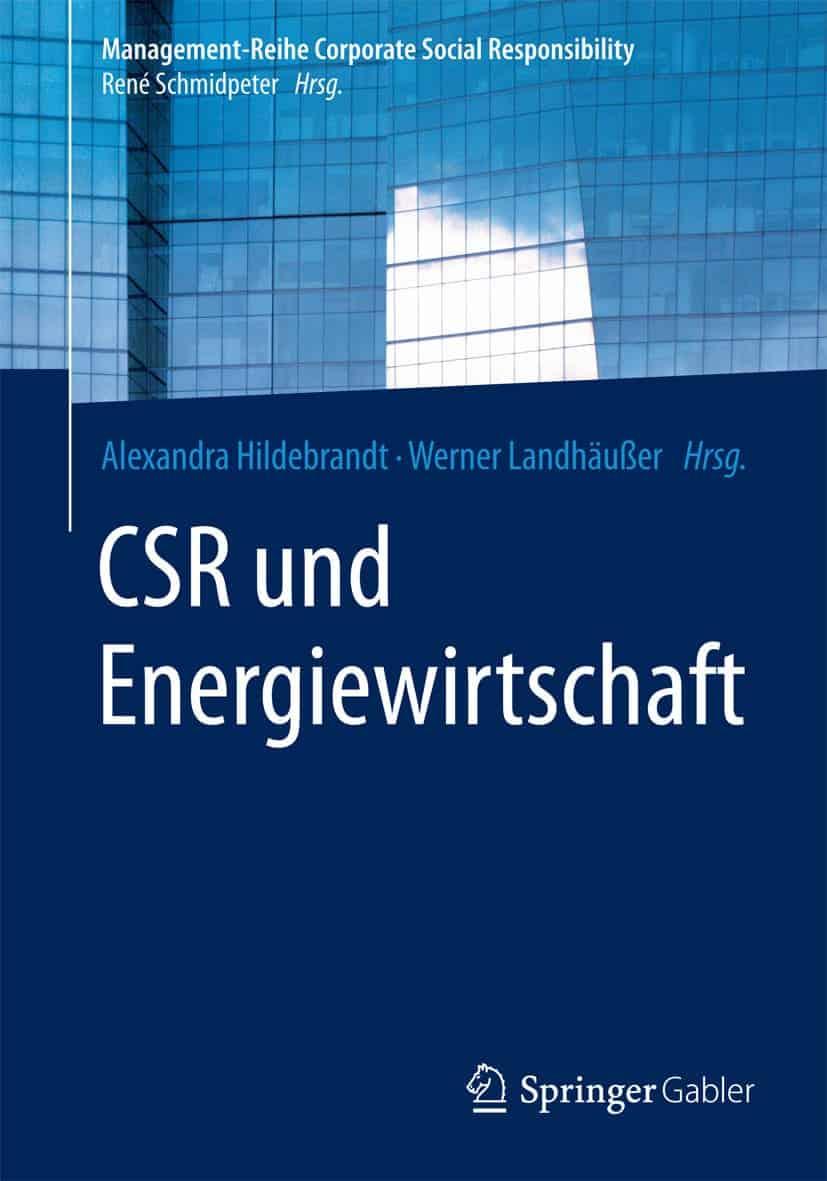 Cover CSR und Energiewirtschaft, ISBN: 978-3662465820