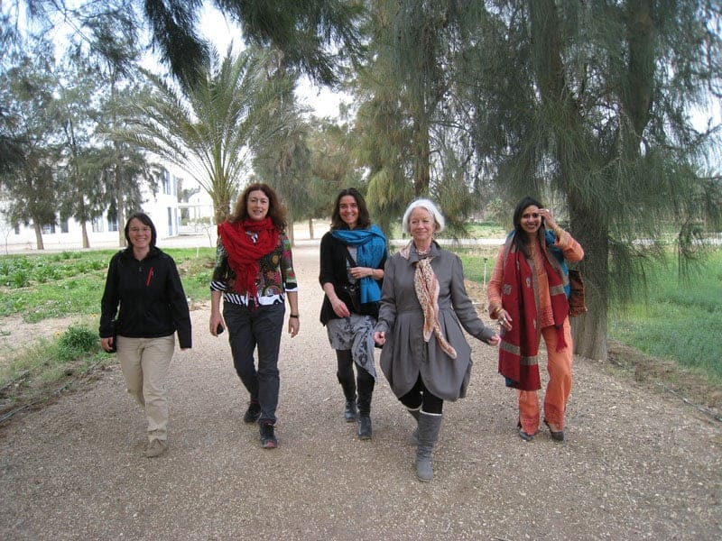 2012: Monika Griefahn in SEKEM bei Kairo in Ägypten.